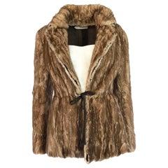F/W 2002 Prada Runway Look 32 Documented Mink Fur Jacket