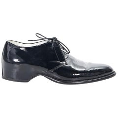 Black Maison Martin Margiela Patent Leather Loafers