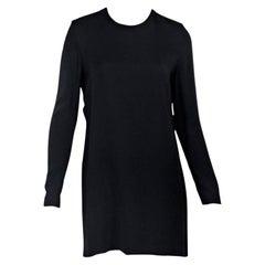 Black Victoria Beckham Cutout Back Dress