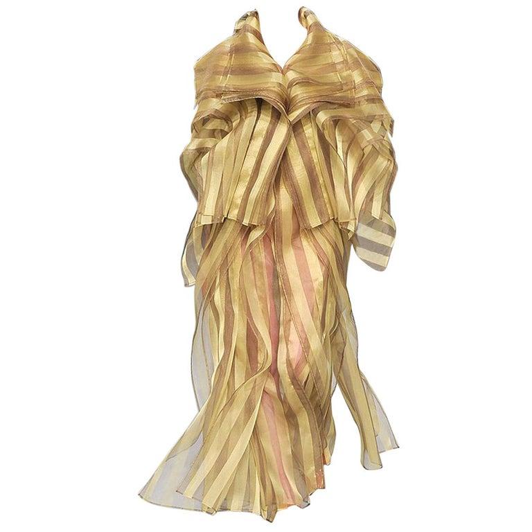 Issey Miyake A/W 2009 Hi Fashion Origami Caftan & Dress Ensemble   New! For Sale