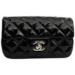 2013/2014 Chanel Black Patent Leather Bag