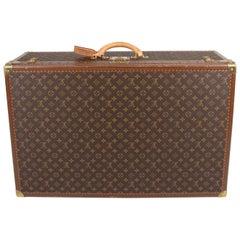 Louis Vuitton Monogram Trunk Suitcase - brown   Louis Vuitton Monogram Trunk S