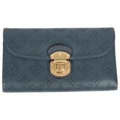 Louis Vuitton Mahina Amelia Wallet - dark blue   Louis Vuitton Mahina Amelia W