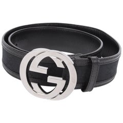 663a39ccd2d Gucci Leather Belts - 28 For Sale on 1stdibs