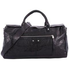 Balenciaga Squash S Boston Duffle Bag Leather Medium