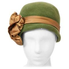 Beige Cloche Hats