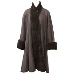Giuliana Teso Sheared Mink Reversible Coat