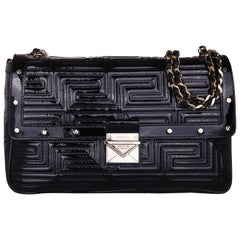 Versace Women Shoulder bag Greek couture bag Nero DBCD128DVRT-D41O