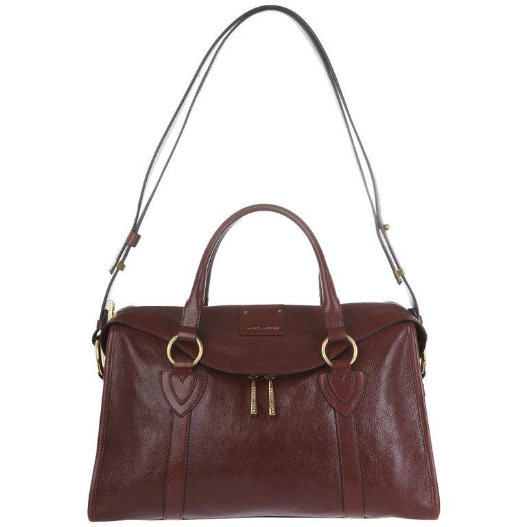 Marc Jacobs Classic Women Shoulder bag Chesnut C3PE025-81500