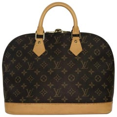 Louis Vuitton Monogram Alma PM Satchel Top Handle Handbag