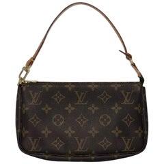 Louis Vuitton Monogram Pochette Accessories Wristlet Handbag