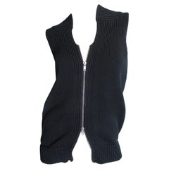 Martin Margiela Sweater Vest Double Zipper