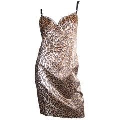 Dolce and Gabbana Leopard Dress