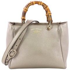 Gucci Bamboo Shopper Tote Leather Mini
