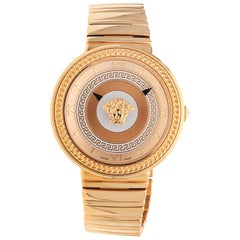 Versace Damenuhr V-METAL ICON Pink Gold VLC100014