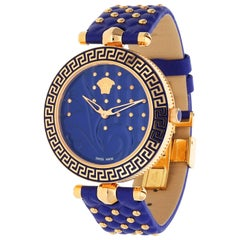 Versace Women Watch Vanitas blue VK7040013