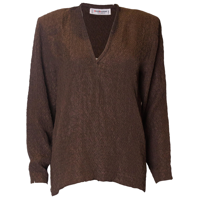 ee99f65afff Vintage Yves Saint Laurent Rive Gauche Shirts - 47 For Sale at 1stdibs