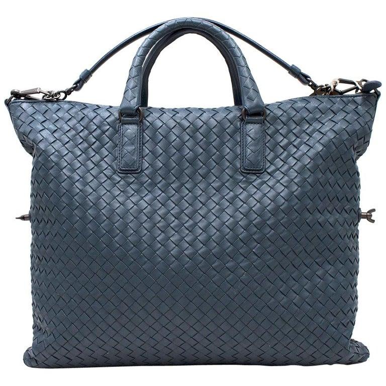 12a1e2d2ee Bottega Veneta Light Tourmaline Intrecciato Nappa Leather Bag For Sale
