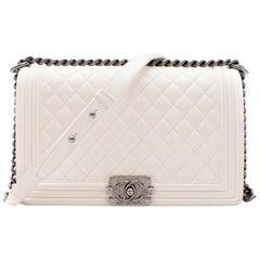 Chanel Large Off White Boy Bag