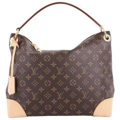 Louis Vuitton Berri Handbag Monogram Canvas PM