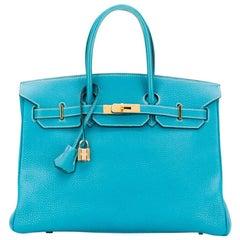 Hermès Blue Jean 35cm Birkin bag