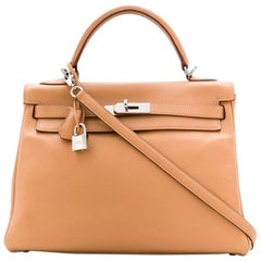 Hermès Biscuit Swift Leather 32cm Kelly bag
