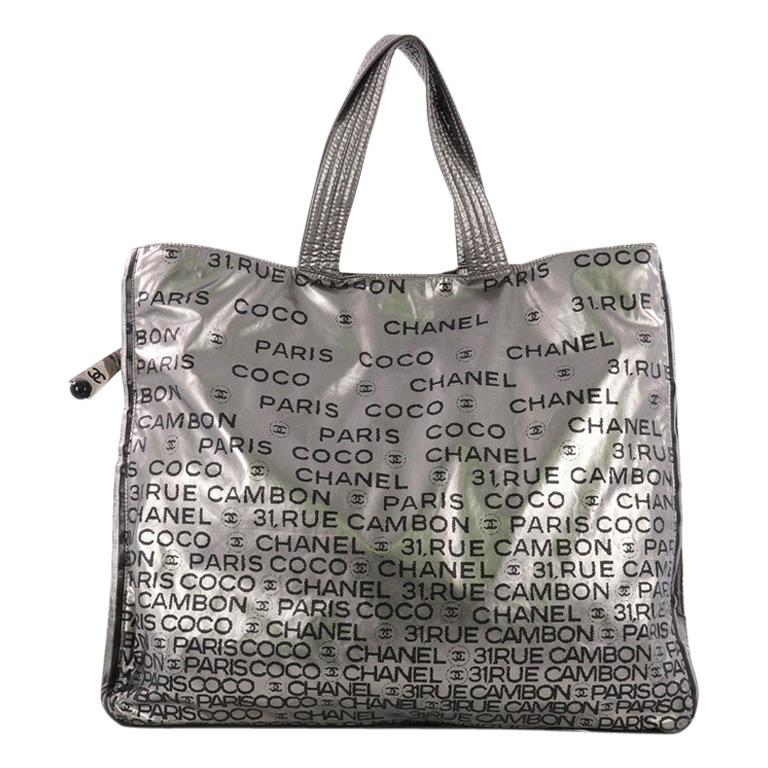 04b3f1847e84 Chanel Unlimited Zip Around Tote Printed Nylon Large at 1stdibs