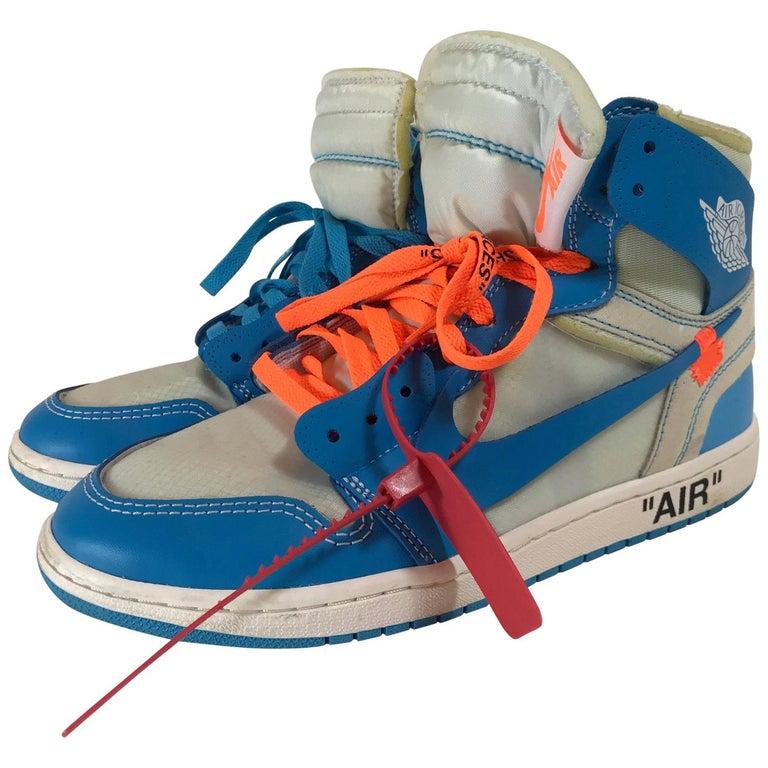 check out f08c1 e6423 Off White X Nike The Ten: Air Jordan 1 Retro Sneakers