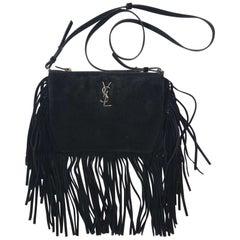 Yves Saint Laurent Suede Crossbody Bag