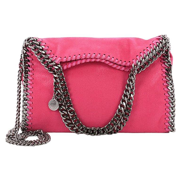 Stella McCartney Falabella Fold Over Crossbody Bag Shaggy Deer Mini at  1stdibs 64ec563fcd227