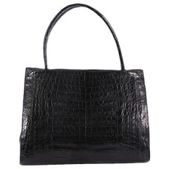 Nancy Gonzalez Wallis Tote Crocodile Medium