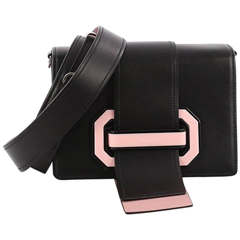 896503a9ac4a Prada Plex Ribbon Shoulder Bag City Calfskin Small at 1stdibs