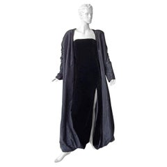 Jean Paul Gaultier 2 in 1 Entrance Gown + Reversible Evening Coat  New!