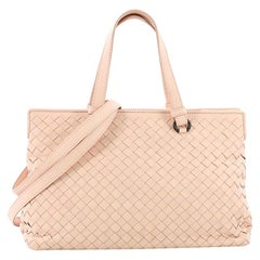 Bottega Veneta 2-Pocket Convertible Tote Intrecciato Nappa Medium