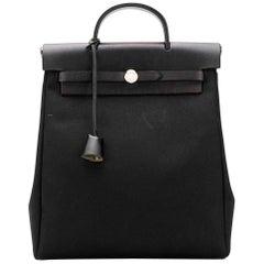 Hermès Black 30cm Herbag