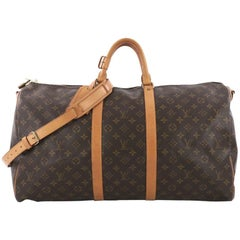 Louis Vuitton Keepall Bandouliere Bag Monogram Canvas 55,