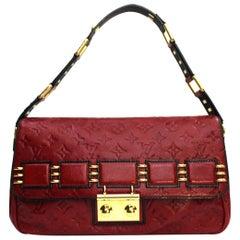 Louis Vuitton Limitierte Auflage 2009-10 My Deer Rebelle Rouges Schultertasche