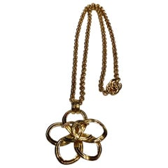 Chanel Flower Pendant Necklace, Spring 1996 Collection