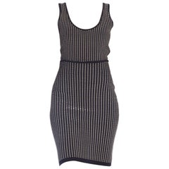 2-Piece Alaia 1990s Body Suit & Skirt