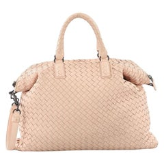 Bottega Veneta Convertible Satchel Intrecciato Nappa Medium b10179658b