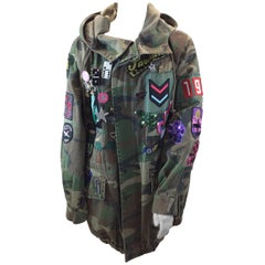 Marc Jacobs Camouflage Embellished Jacket NWT