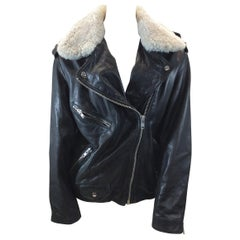 Isabel Marant Black Leather Jacket