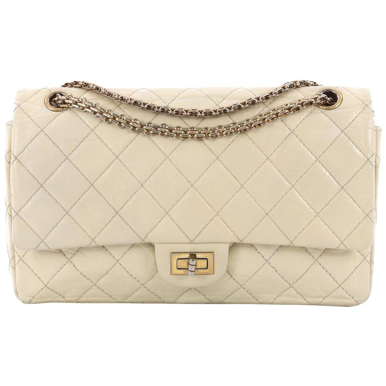 692edbb59aa05e Chanel Reissue 2.55 Handbag Quilted Aged Calfskin 226 at 1stdibs