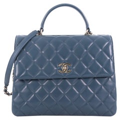 Chanel Trendy CC Top Handle Bag Quilted Lambskin Large,