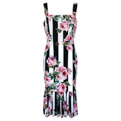 Dolce & Gabbana Roses Dress IT44