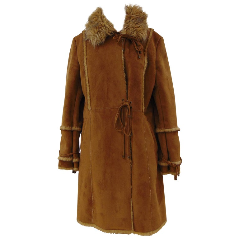 Balmain Brown Coat For Sale