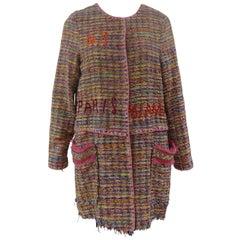 Femme multicoloured Coat NWOT
