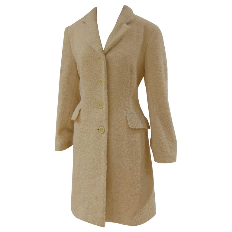Mari Beije Wool Coat For Sale