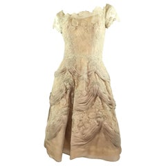Ceil Chapman Lace Vintage Dress