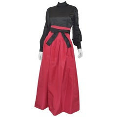 Pierre Cardin Vintage Skirt and Blouse Ensemble